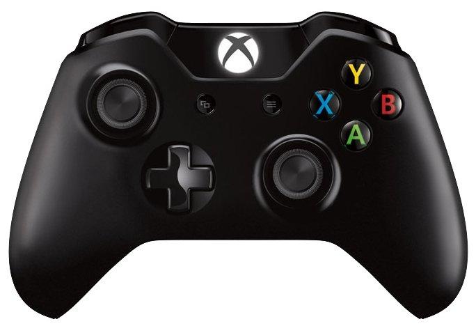 Беспроводной геймпад Microsoft Xbox One Wireless Controller с разъемом 3,5 мм и Bluetooth, черный