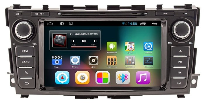 Smarty Nissan Teana 2014+ Android