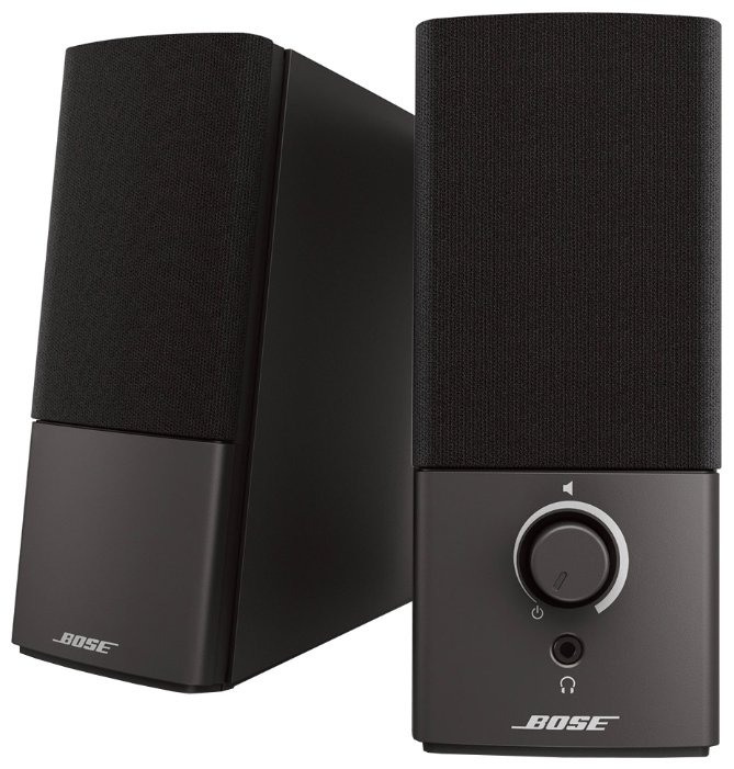 Компьютерная акустика Bose Companion 2.III Black