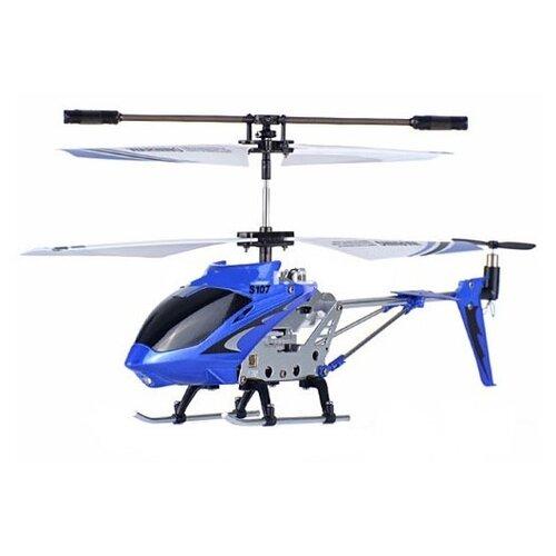 Вертолет Syma Phantom (S107G) 22 см сине-бело-черный syma x8sw d