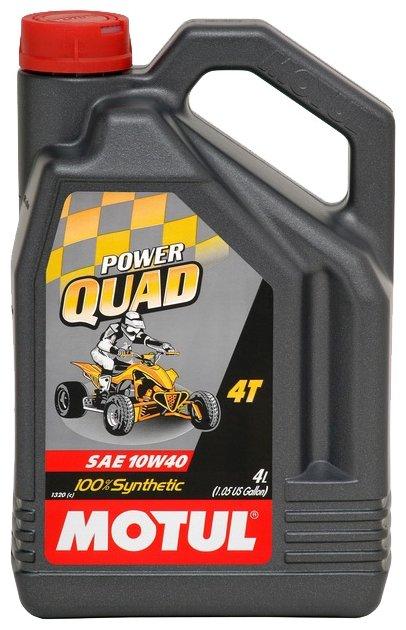 Моторное масло Motul Power Quad 4T 10W-40 4 л