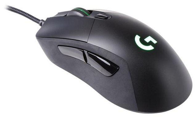 Мышь проводная Logitech G G403 Prodigy wired Black USB 910-004824