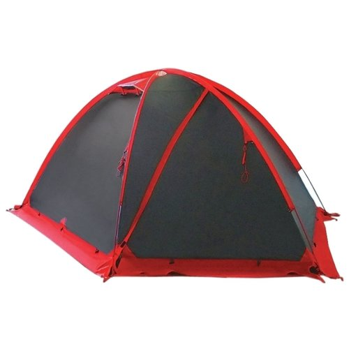 Палатка Tramp ROCK 4 V2 серый