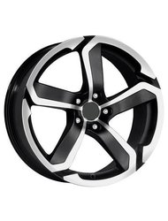 RS Wheels 517 5,5x0 4x98 ET 38 Dia 58,6 (черный MB) - фото 1