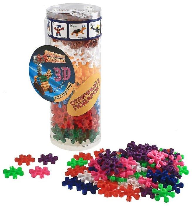 Биплант Радужная мозаика 3D 11030 180 элементов
