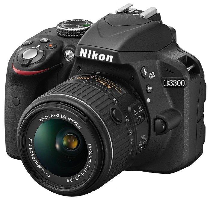Nikon Зеркальный фотоаппарат Nikon D3300 Kit