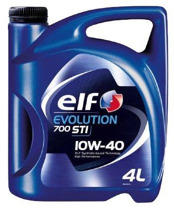 Моторное масло ELF EVOLUTION 700 STI 10w40 (4 л) Полусинтетическое