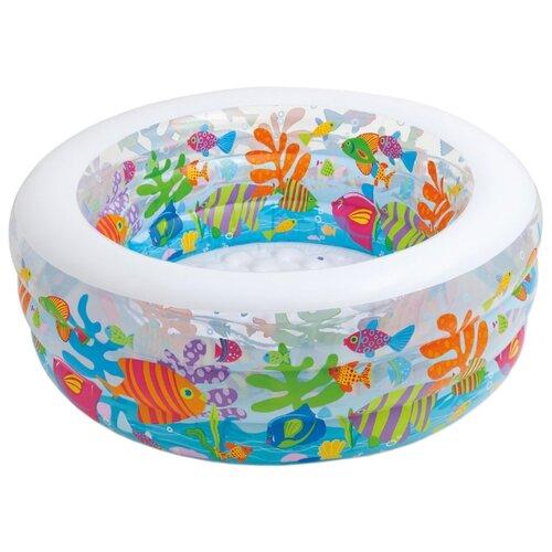 Детский бассейн Intex Aquarium 58480 детский бассейн intex family 57495