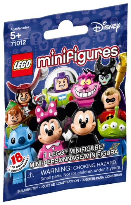 Конструктор LEGO Collectable Minifigures 71012 Герои Диснея
