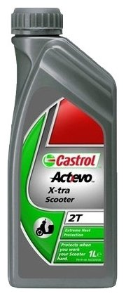 Моторное масло Castrol Act>Evo X-tra Scooter 2T 1 л