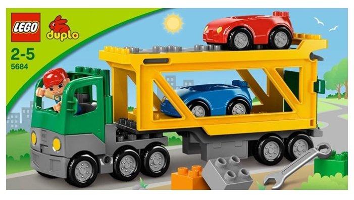 Конструктор LEGO DUPLO 5684 Автовоз