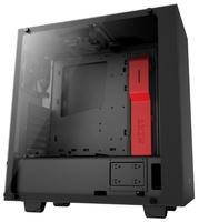 Компьютерный корпус NZXT S340 Elite Black/red