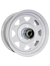 Диск колесный Trebl Off-road 01 8x15/6x139.7 D108.7 ET16 White - фото 1