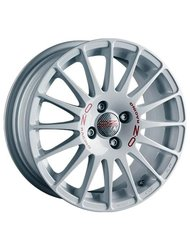 OZ Racing Superturizmo WRC 7 x 17 ET45 d75 PCD5*114,3 OZ Raсing White Red Lettering - фото 1