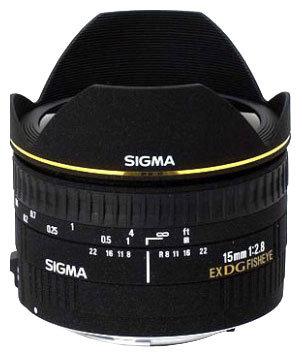 Sigma AF 15mm f/2.8 EX DG DIAGONAL FISHEYE Minolta A