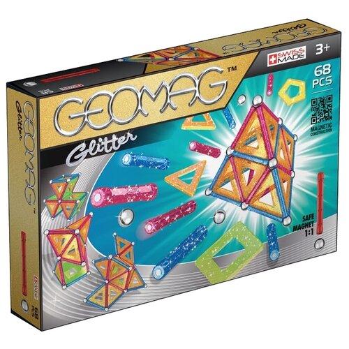 Магнитный конструктор GEOMAG Glitter 533-68Конструкторы<br>