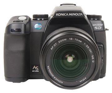 Фотоаппарат Konica Minolta DYNAX 5D Body