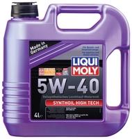 Моторное масло LIQUI MOLY Synthoil High Tech 5W-40 4 л