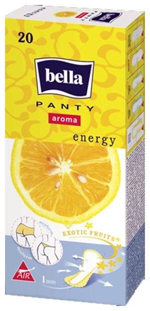 Bella прокладки ежедневные Panty aroma energy