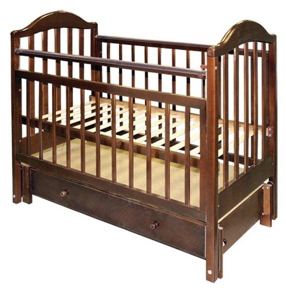 Кроватка Мой малыш 10 (маятник продольный)