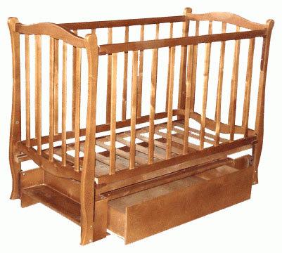 Кроватка Фея МД-270.7