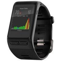 Умные часы и браслеты Garmin Vivoactive HR черный стандартный размер