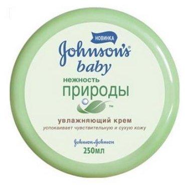 Johnson's Baby Крем увлажняющий Нежность природы