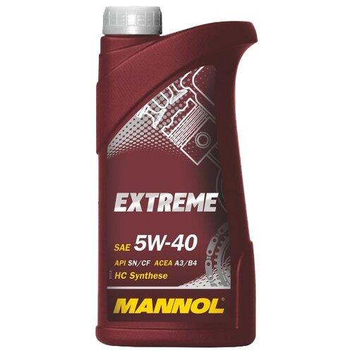 Фото - Полусинтетическое моторное масло Mannol Extreme 5W-40 1 л минеральное моторное масло mannol ts 1 shpd 15w 40 10 л