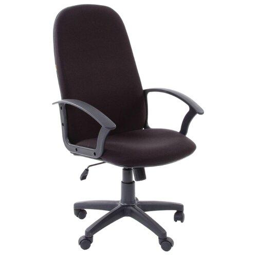 Компьютерное кресло Chairman 289 NEW для руководителя, обивка: текстиль, цвет: 10-356 черный компьютерное кресло chairman 434n для руководителя обивка текстиль цвет вельвет черный