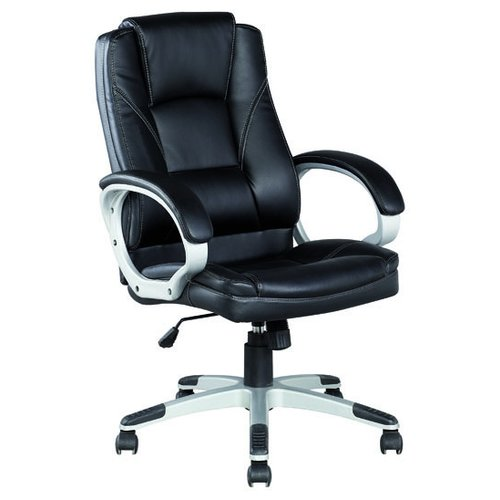 Компьютерное кресло College BX-3177 для руководителя, обивка: искусственная кожа, цвет: черный