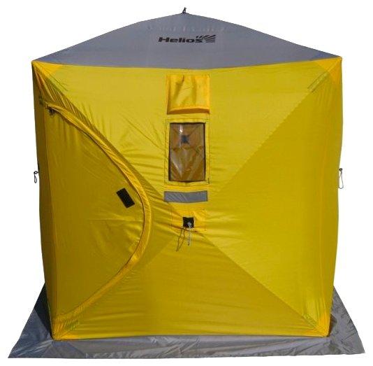 Палатка HELIOS Куб 1.8х1.8 — купить по выгодной цене на Яндекс.Маркете