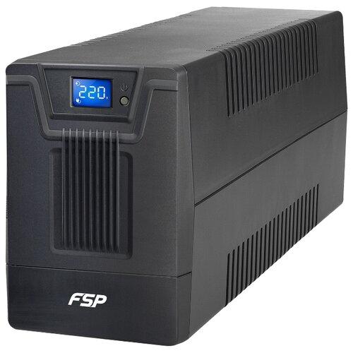 Интерактивный ИБП FSP Group DPV 1500 IEC черный ибп fsp dpv 1000 1000va