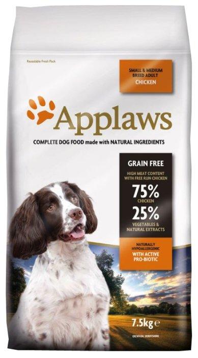 Корм для собак Applaws Adult Small & Medium Breed Chicken