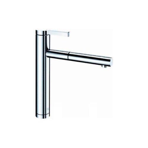 Фото - Смеситель для кухни (мойки) Blanco Linee-S (зеркальная нержавеющая сталь) смеситель для кухни blanco linee s хром кофе 518445