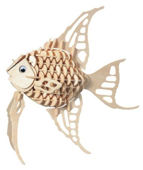 Сборная модель Чудо-Дерево Ангельская рыбка (H010),,