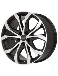 Диск колесный Alutec W10 9x20/5x127 D71.6 ET52 Racing-black front polished - фото 1