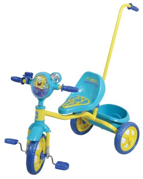 Трехколесный велосипед 1 TOY Т57575 Губка Боб
