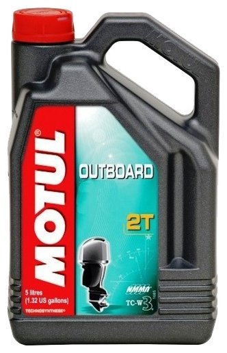 Моторное масло Motul Outboard 2T 5 л