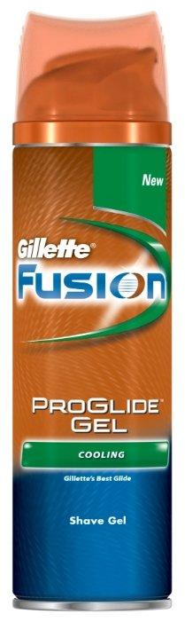 "Гель для бритья Fusion ProGlide Cooling ""Охлаждающий"" Gillette"