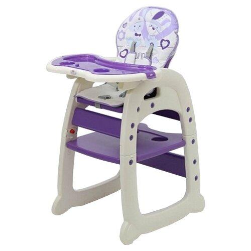 Купить Стульчик-парта Polini 460 фиолетовый, Стульчики для кормления