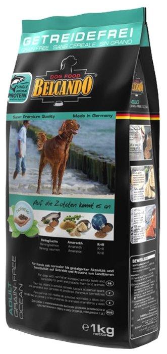 Корм для собак Belcando Adult GF Ocean для собак крупных пород (1 кг)