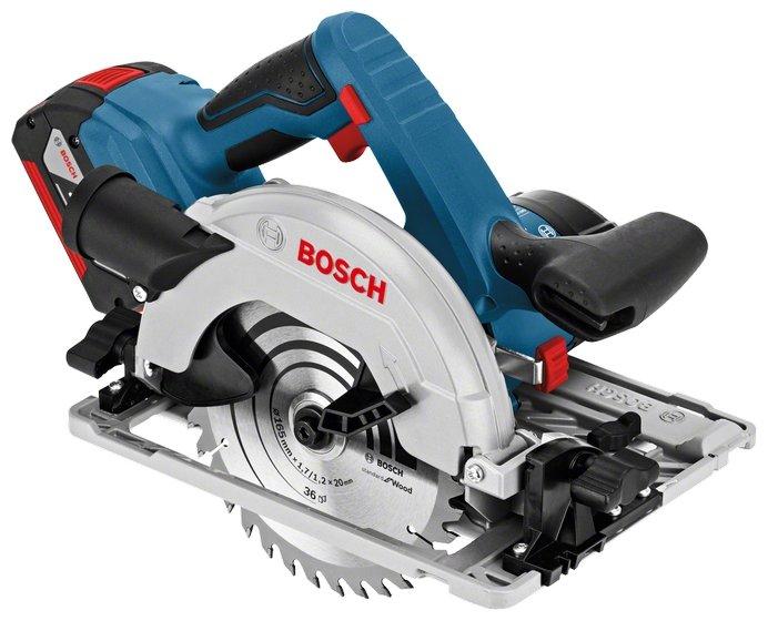 Bosch GKS 18V-57 G 5.0Ah x2 Box