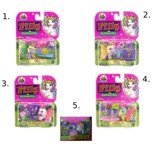 Купить Игровой набор Filly Butterfly Glitter Лошадка M770138-3850, Игровые наборы и фигурки