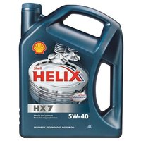 Моторное масло SHELL Helix HX7 5W-40 4 л