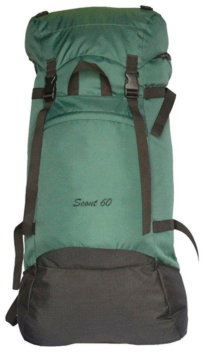 Рюкзак prival скаут 60 зеленый вертикаль 75 рюкзак