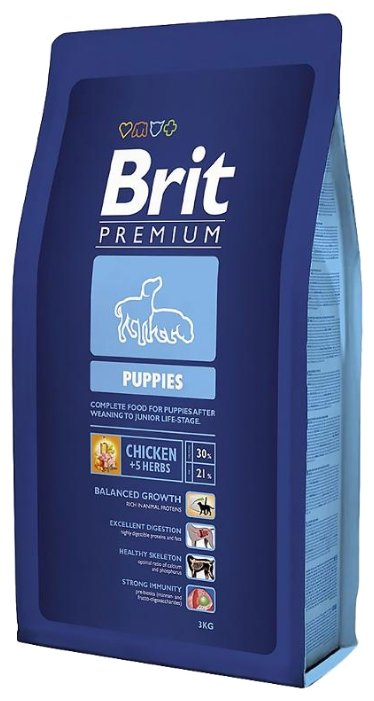 Корм для собак Brit Premium Puppies