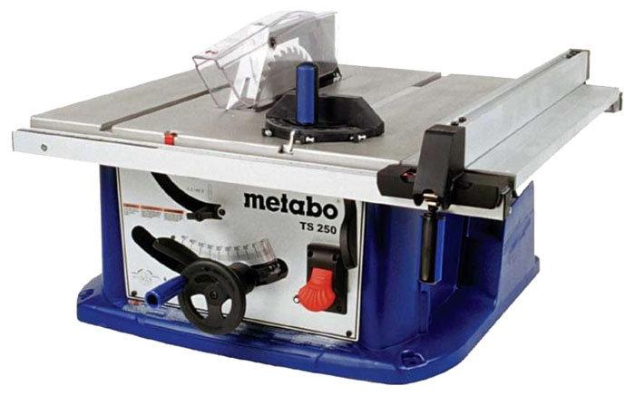 Распиловочный станок Metabo TS 250 0102502000