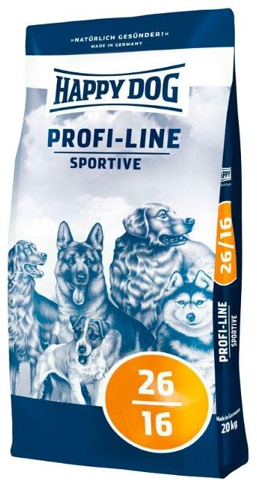 Корм для собак Happy Dog Profi-Line Sportive 26/16 для активных животных 20 кг