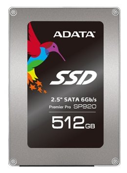 A-DATA SATA III 512Gb ASP920SS3-512GM-C Premier Pro SP920 2.5""