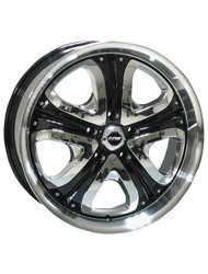 Диски Racing Wheels H-382 8,5x20 5x120 D74.1 ET45 цвет HS CW D/P - фото 1